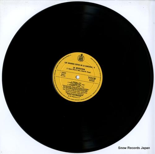 SOROZABAL, PABLO la revoltosa S30.051 - disc