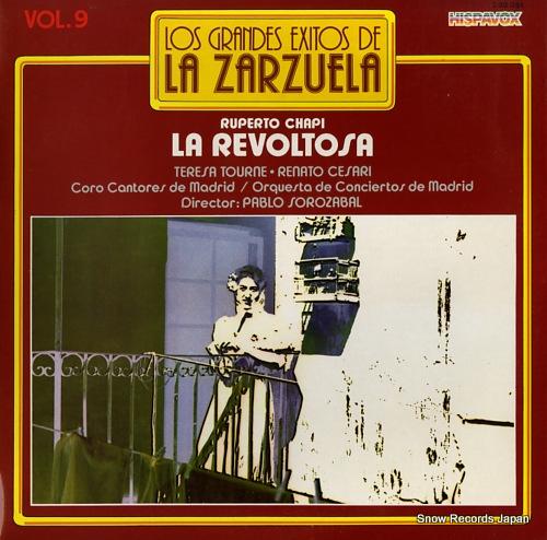 SOROZABAL, PABLO la revoltosa S30.051 - front cover