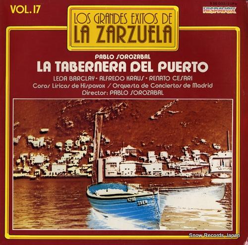 SOROZABAL, PABLO la tabernera del puerto S36.003 - front cover