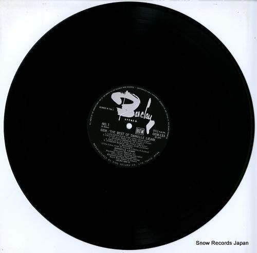 LICARI, DANIELLE the best of danielle licari GEM133-4 - disc