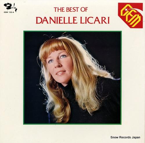 LICARI, DANIELLE the best of danielle licari GEM133-4 - front cover