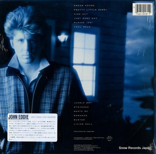 EDDIE, JOHN john eddie 28AP3197/C40181 - back cover