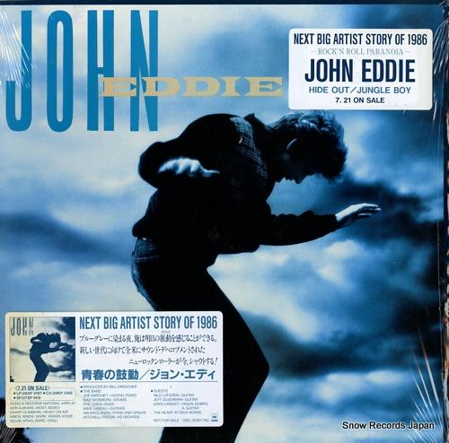 EDDIE, JOHN john eddie 28AP3197/C40181 - front cover
