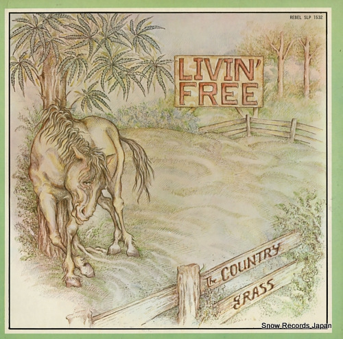 COUNTRY GRASS, THE livin' free SLP1532 - front cover
