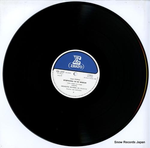 MARTINON, JEAN franck; symphonie en re mineur ERA-2099 - disc