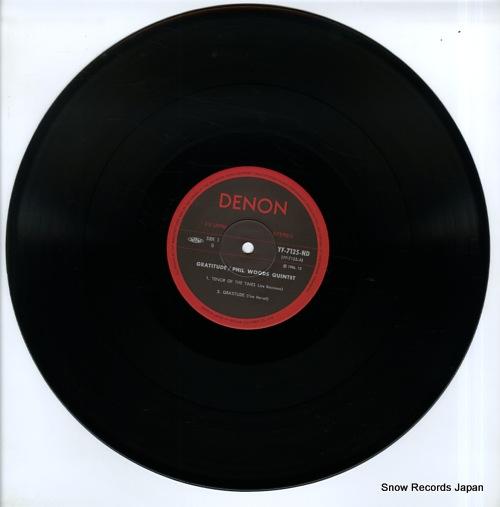 WOODS, PHIL gratitude YF-7125-ND - disc
