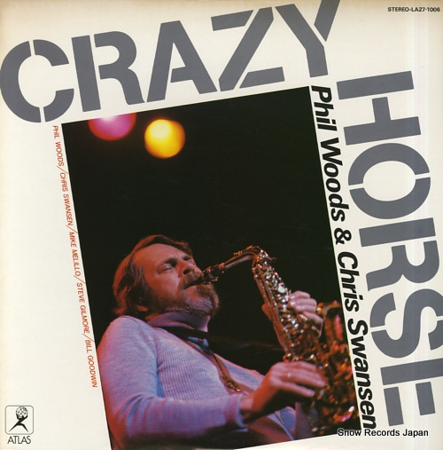 WOODS, PHIL, AND CHRIS SWANSEN crazy horse LA27-1006 - front cover