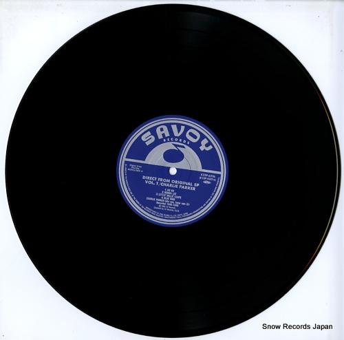 PARKER, CHARLIE direct from original sp vol.1 K23P-6336 - disc