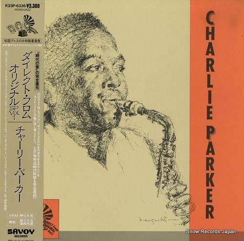 PARKER, CHARLIE direct from original sp vol.1 K23P-6336 - front cover