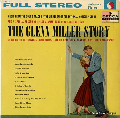 GERSHENSON, JOSEPH the glenn miller story SDL18 - front cover