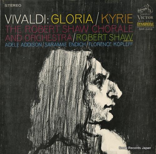 SHAW, ROBERT vivaldi; gloria / kyrie SHP-2459 - front cover