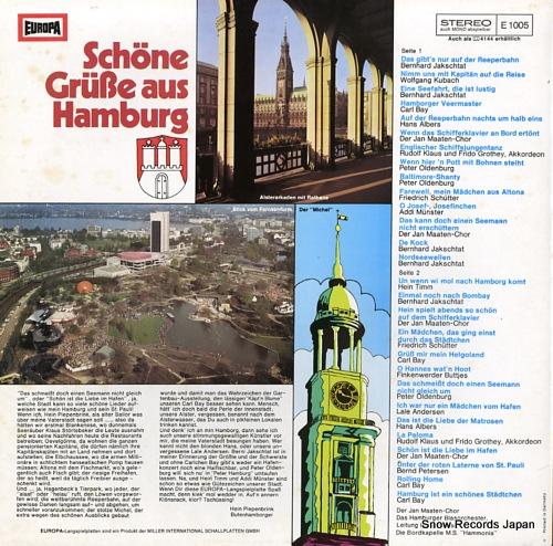 V/A schone grube aus hamburg E1005 - back cover