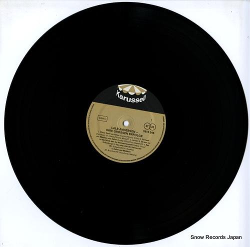 ANDERSEN, LALE ihre grossen erfolge 2415045 - disc