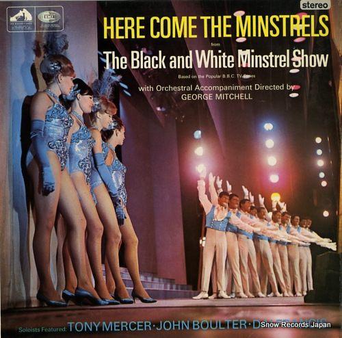 MITCHELL, GEORGE here come the minstrels CSD3579 - front cover