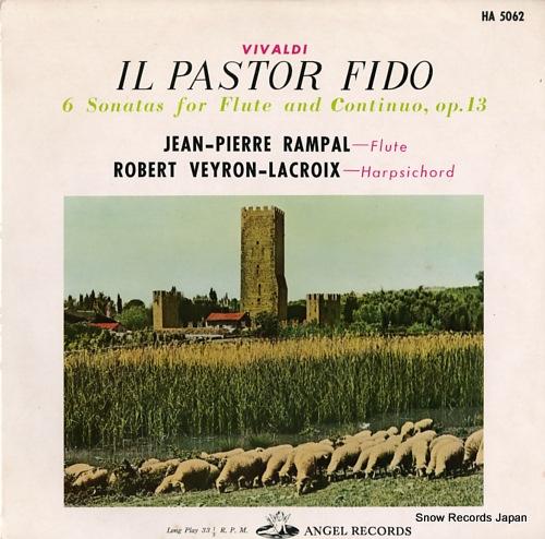 RAMPAL, JEAN-PIERRE vivaldi; il pastor fido HA5062 - front cover