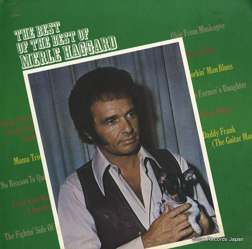 HAGGARD, MERLE the best of the best of merle haggard ST-11082 - front cover