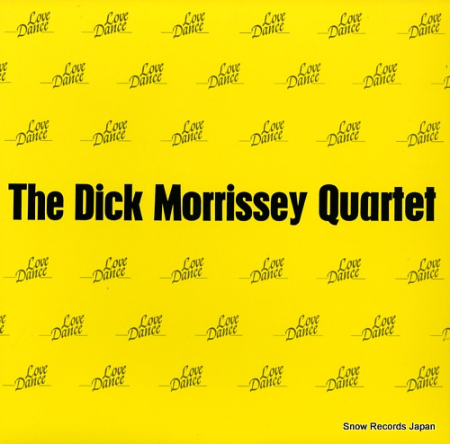 MORRISSEY, DICK love dance NCSP96-02 - front cover