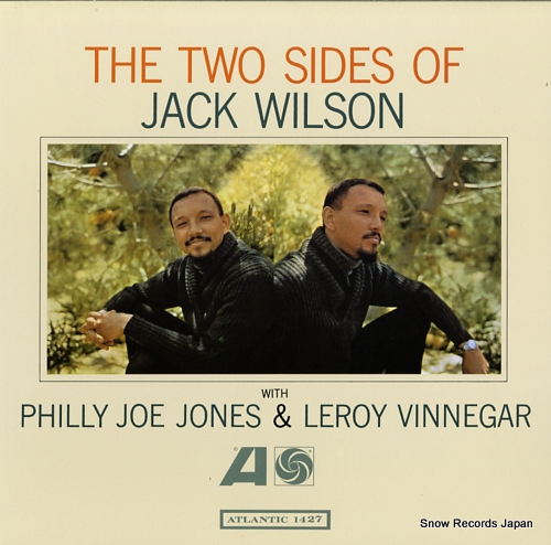WILSON, JACK the two sides of jack wilson AMJY-1427 - front cover