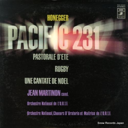MARTINON, JEAN honegger; pacific 231 EAA-80022 - front cover