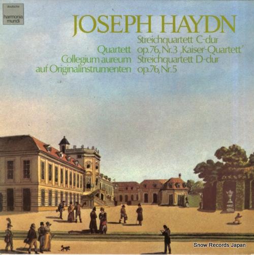 QUARTETT COLLEGIUM AUREUM haydn; streichquartett c-dur / d-dur 1C065-99876 - front cover
