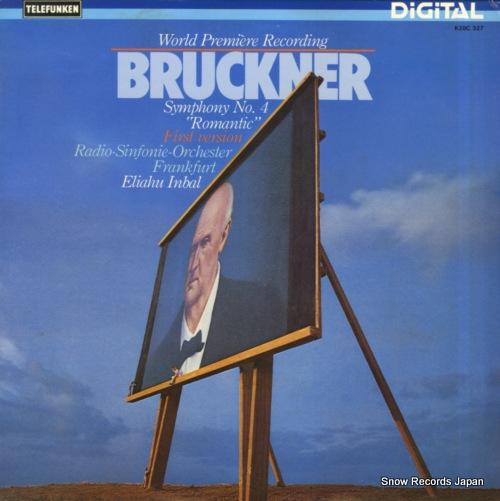 INBAL, ELIAHU bruckner; symphony no.4