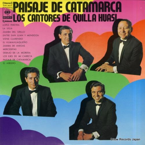 LOS CANTORES DE QUILLA HUASI paisaje de catamarca SONP50204 - front cover