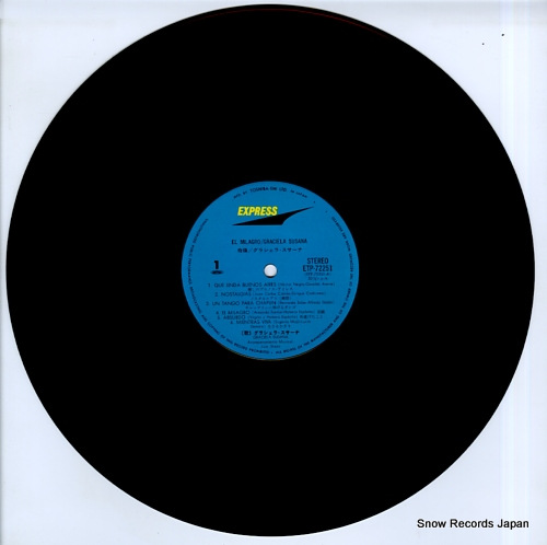 SUSANA, GRACIELA el milagro ETP-72251 - disc