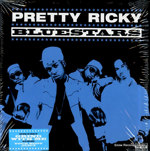 PRETTY RICKY bluestars 83786-1 - front cover