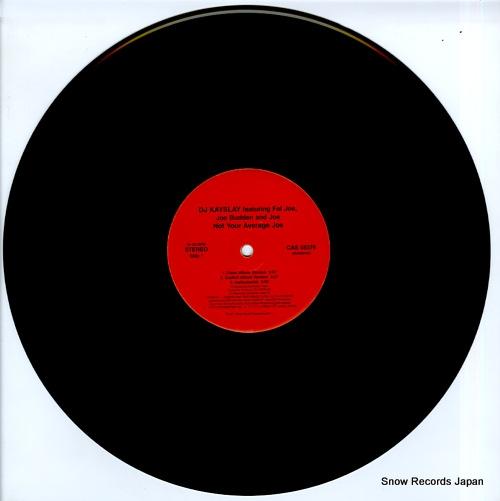 DJ KAYSLAY not your average joe / hands on the pump CAS58376 - disc