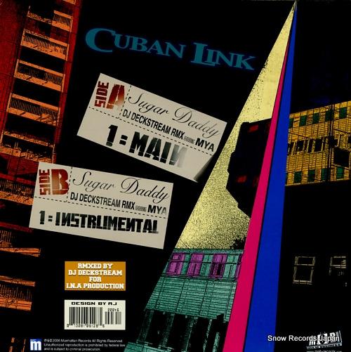 CUBAN LINK sugar daddy MRL019800002 - back cover