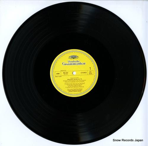 ABBADO, CLAUDIO prokofiev; alexander nevsky MG1251 - disc