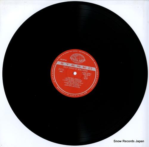 LEON POPS ORCHESTRA jolly world of serenades K20C-3061 - disc