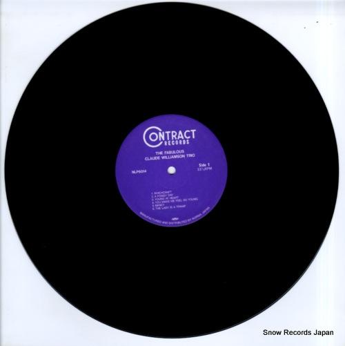 WILLIAMSON, CLAUDE the fabulous NLP6014 - disc