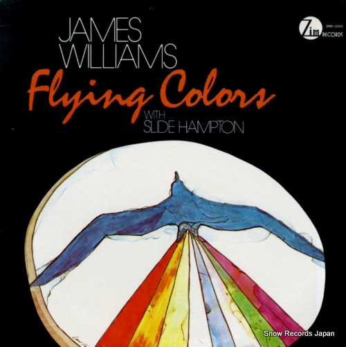 WILLIAMS, JAMES flying colors ZMS-2005 - front cover
