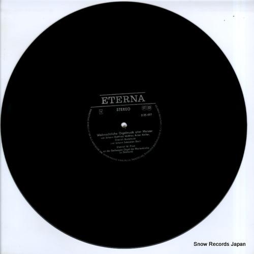 PROST, DIETRICH W. weihnachtliche orgelmusik alter meister 825497 - disc