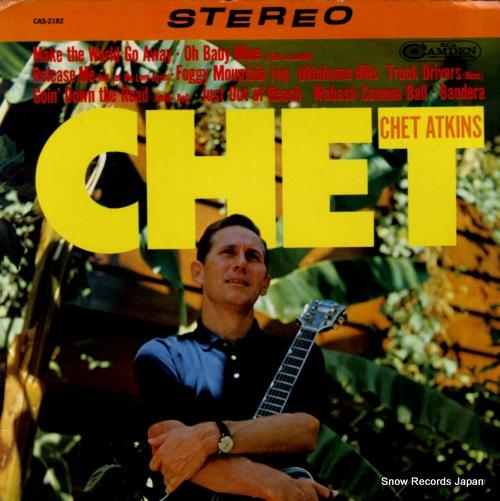 ATKINS, CHET chet CAS-2182 - front cover
