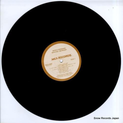 HAGGARD, MERLE serving 190 proof MCA-3089 - disc