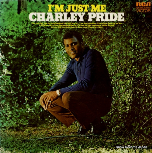 PRIDE, CHARLEY i'm just me LSP-4560 - front cover
