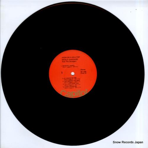 HAGGARD, MERLE high on a hilltop SF-709 - disc