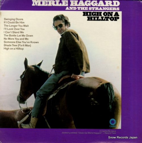 HAGGARD, MERLE high on a hilltop SF-709 - front cover