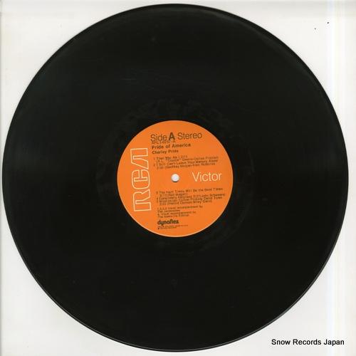 PRIDE, CHARLEY pride of america APL1-0757 - disc