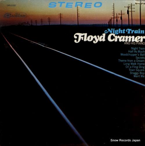 CRAMER, FLOYD night train CAS-2152 - front cover