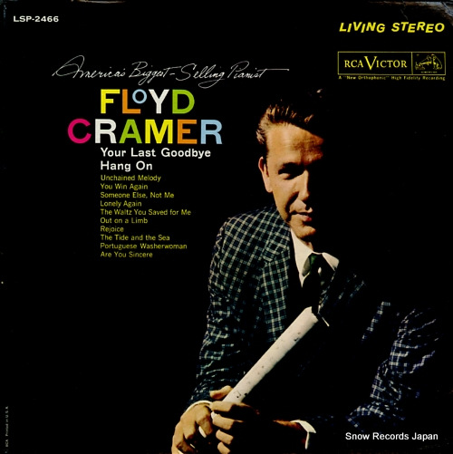 CRAMER, FLOYD america's biggest - selling pianist LSP-2466 - front cover