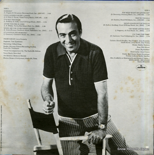 YOUNG, FARON it's four in the morning with faron young SR61359 - back cover