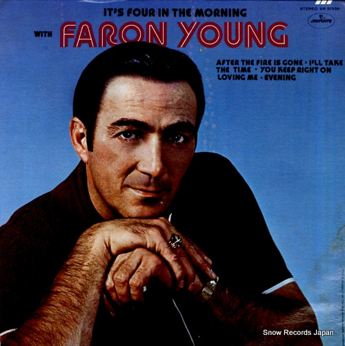 YOUNG, FARON it's four in the morning with faron young SR61359 - front cover