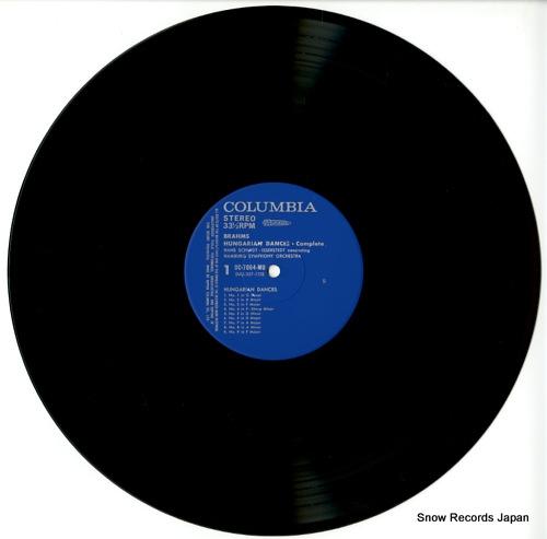 SCHMIDT-ISSERSTEDT, HANS brahms; hungarian dances OC-7064-MU - disc