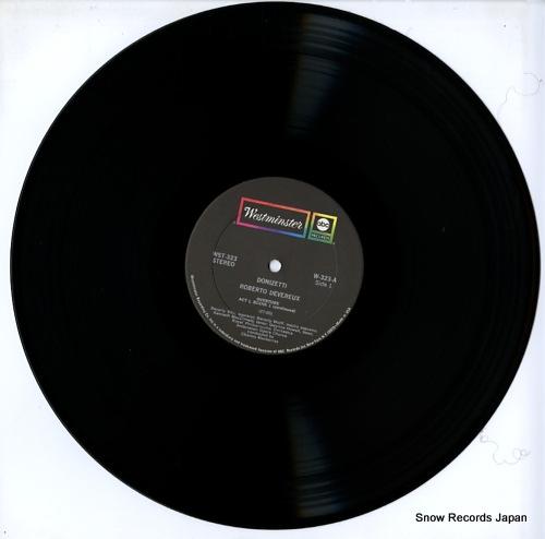 SILLS, BEVERLY donizetti; roberto devereux (elizabeth and essex) WST-323 - disc