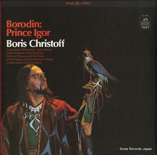 CHRISTOFF, BORIS borodin; prince igor SCL-3714 - front cover