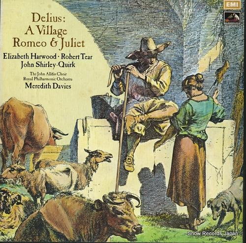 DAVIES, MEREDITH delius; a village romeo & juliet SLS966 - front cover