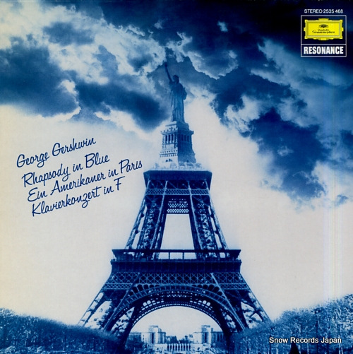 V/A gershwin; rhapsody in blue 2535468 - front cover